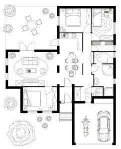 Floor plan Interior Design