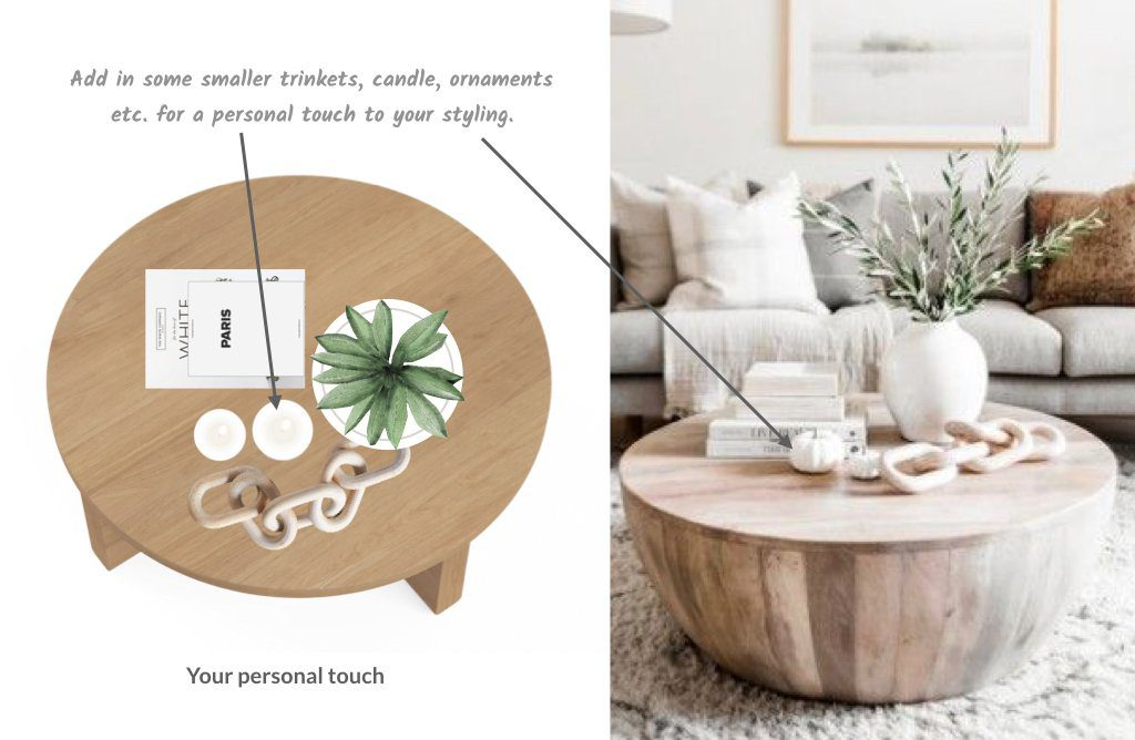 Tips to style your coffee table