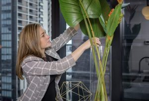 Styling with fake plants
